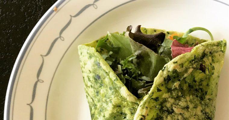 Snabba Tortillabröd med spenat till fredagsmyset! AIP