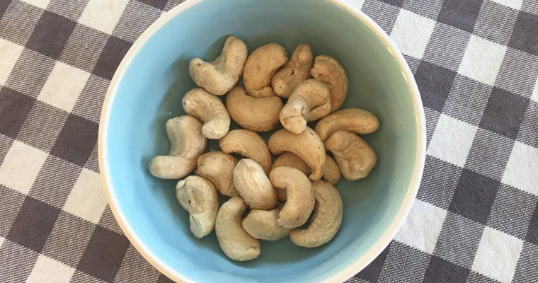 8e Återintroduktionen: Cashewnötter