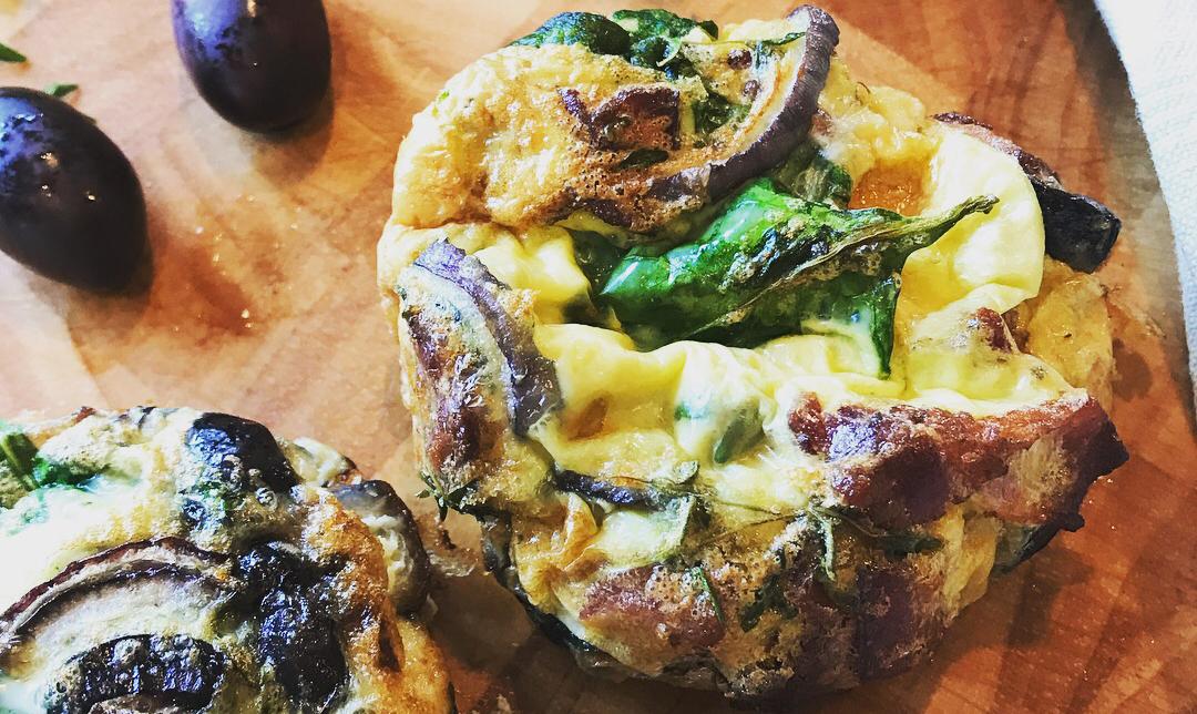 Snabba omelettmuffins (Paleo)