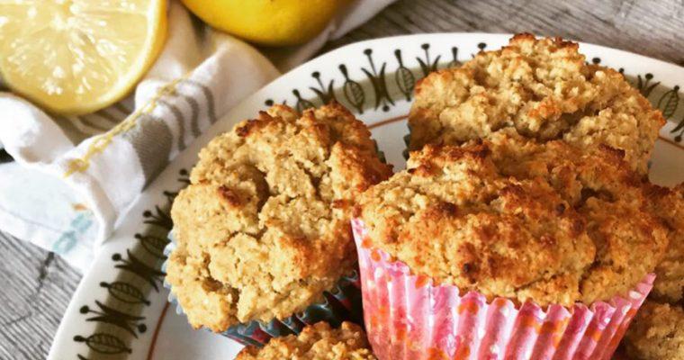 Citronmuffins, Baka fluffiga Paleomuffins!