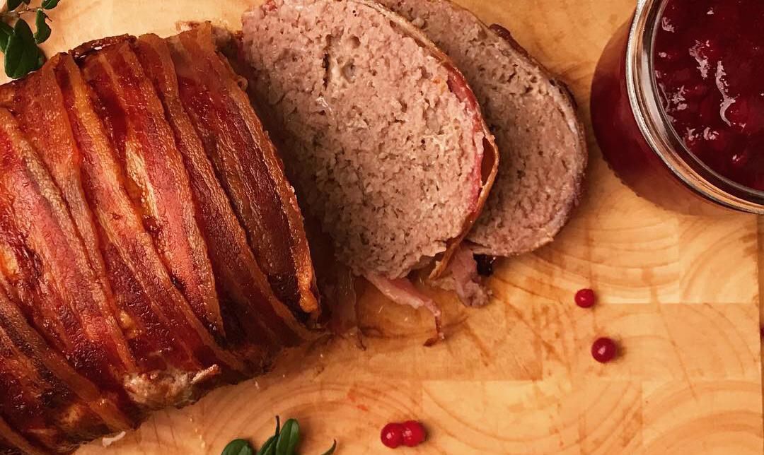 Köttfärslimpa , riktig mat i vardagen! (Paleo)